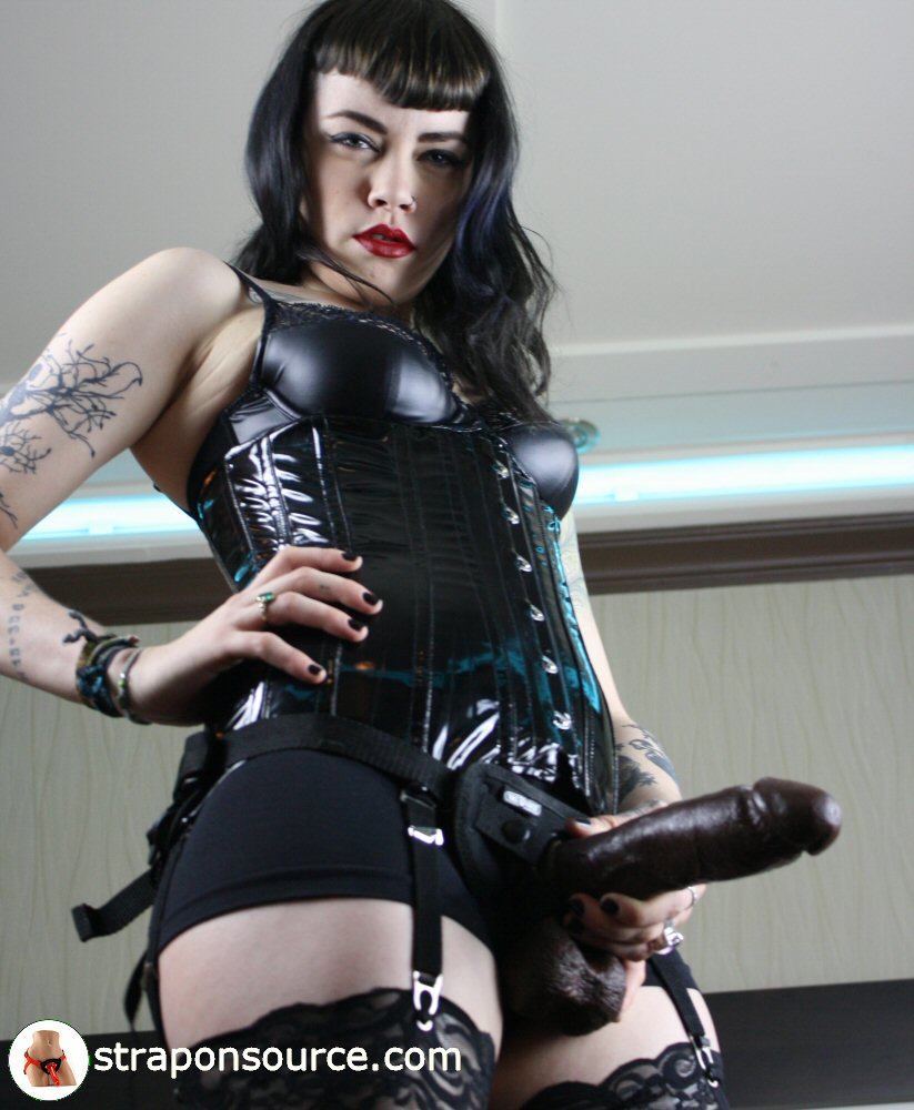 Fucking my female rubber slave